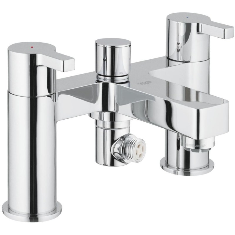 """Grohe Lineare Two-Handled Bath/Shower Mixer 1/2"""" 25113"""