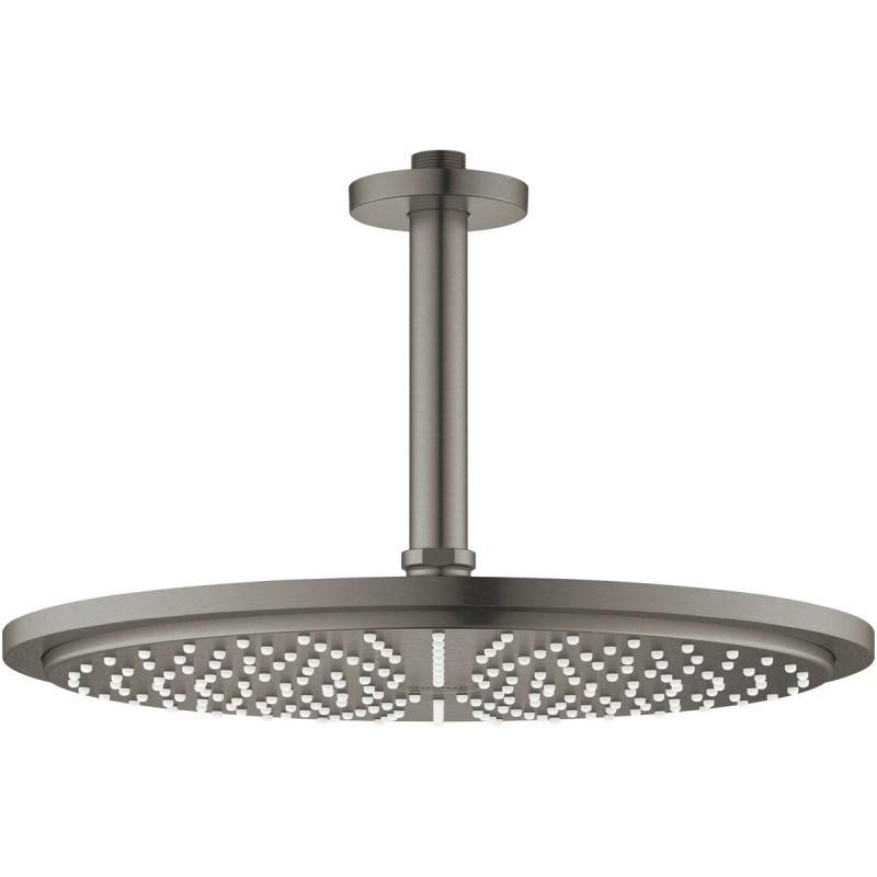 Grohe Rainshower 310 Ceiling Shower Set 26067 Brushed Graphite