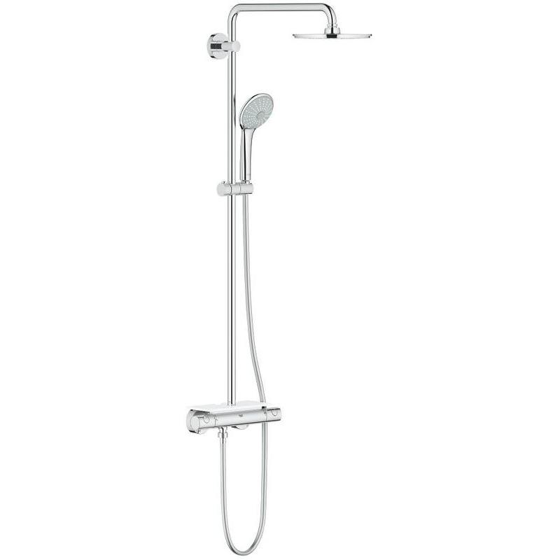 Grohe Euphoria 210 Thermostatic Wall Shower System 26363