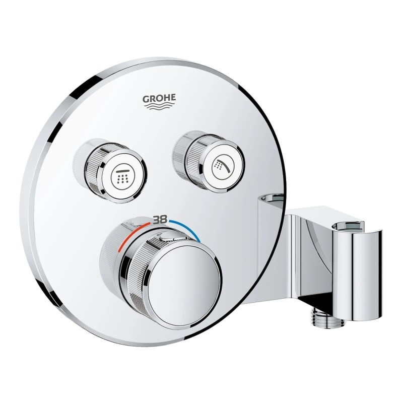 Grohe Smartcontrol Thermostat with 2 Valves & Holder 29120