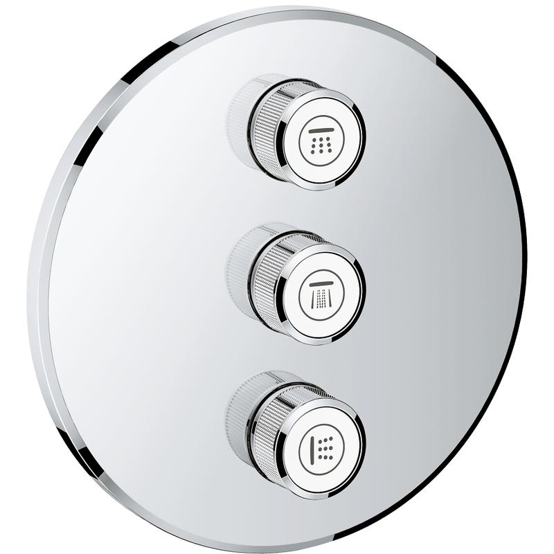 Grohe Smartcontrol Triple Volume Control Trim 29122