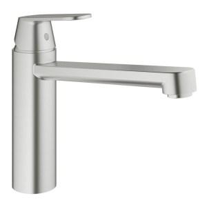 """Grohe Eurosmart Cosmopolitan Sink Mixer 1/2"""" 30193 SuperSteel"""