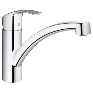 "Grohe Eurosmart  Single-Lever Sink Mixer 1/2"" 30260 Chrome"