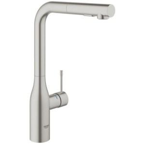 "Grohe Essence Single-Lever Sink Mixer 1/2"" 30270 Supersteel"
