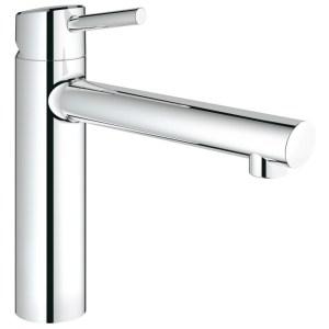 "Grohe Concetto Medium Spout Sink Mixer 1/2"" 31128 Chrome"
