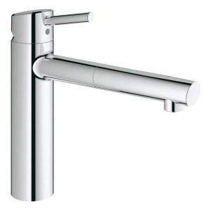 """Grohe Concetto Sink Mixer Pull Out Spout 1/2"""" 31129 Chrome"""