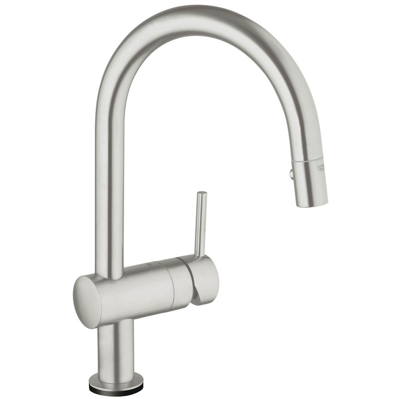 """Grohe Minta Touch Electronic Sink Mixer 1/2"""" 31358 Supersteel"""