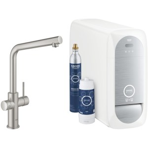 Grohe Blue Home Duo L-Spout 31454 Supersteel