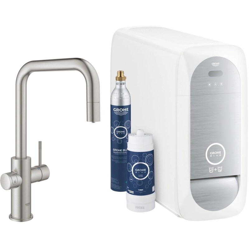 Grohe Blue Home U-Spout Duo 31543 Supersteel