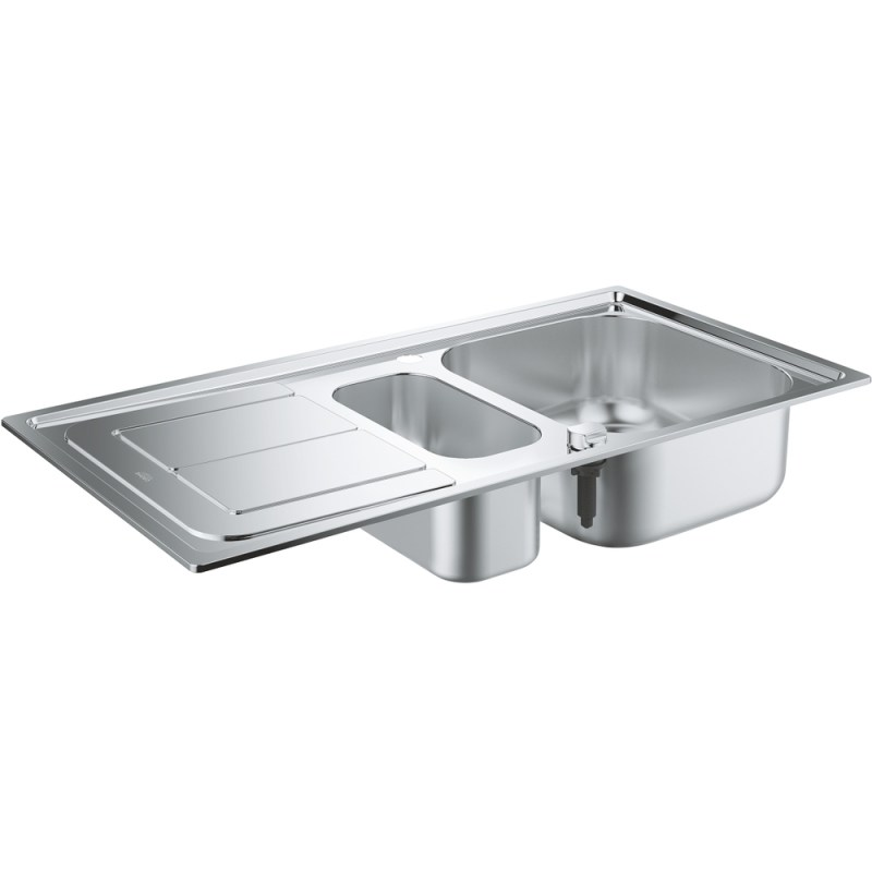Grohe K300 Stainless Steel Sink with Drainer 31564