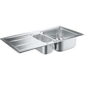 Grohe K400+ Stainless Steel Sink with Drainer 31569