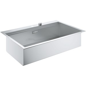 Grohe K800 90-S 84.6/56 1.0 Stainless Steel Sink 31584