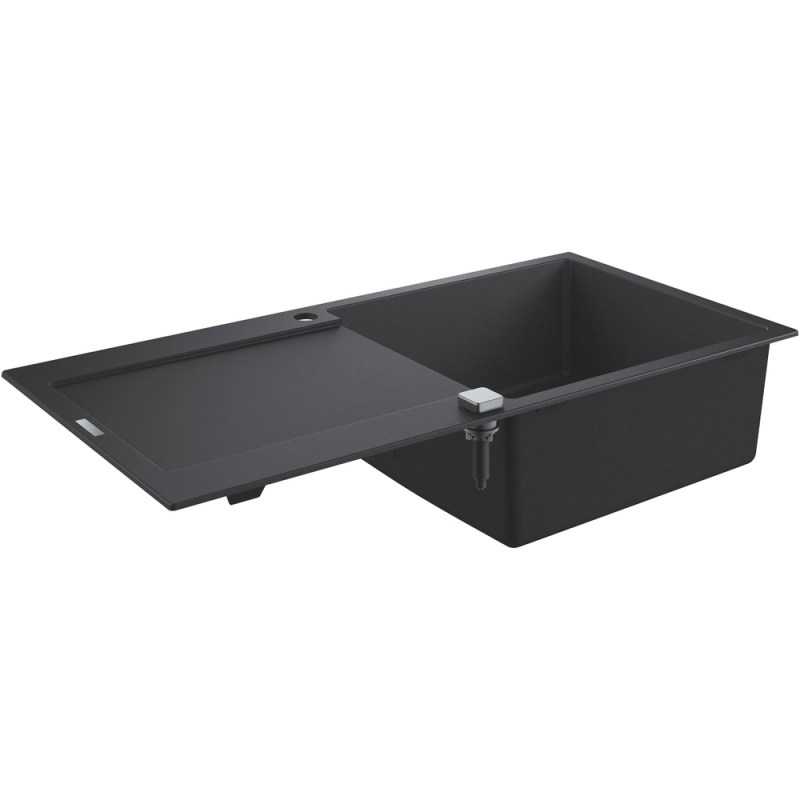 Grohe K500 60-C 100/50 1.0 Rev Sink with Drainer 31645 Black
