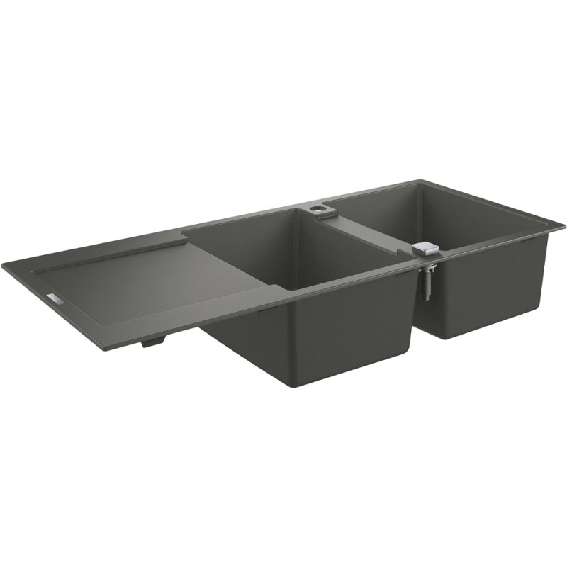 Grohe K500 80-C 116/50 2.0 Rev Sink with Drainer 31647 Gray