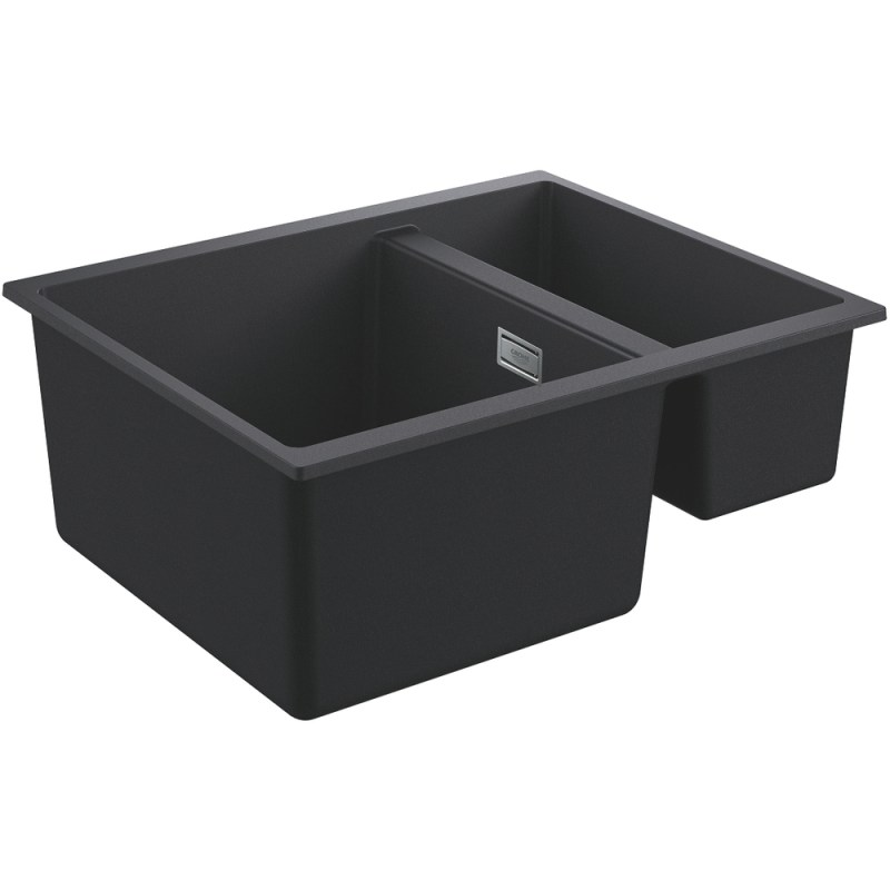 Grohe K500 60-C 55.5/46 1.5 Rev Sink with Drainer 31648 Black