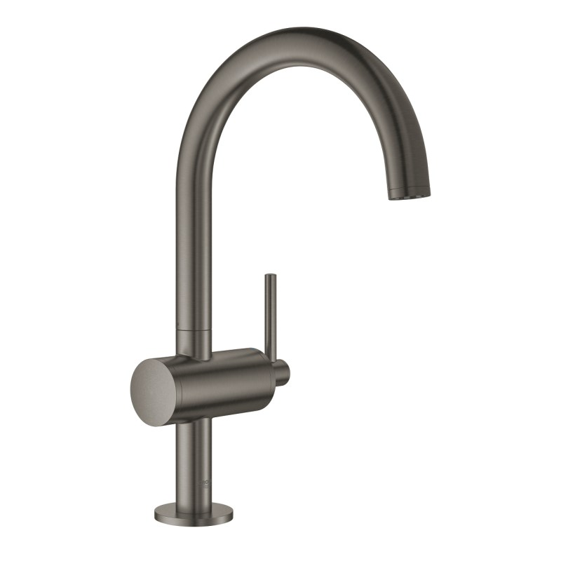 Grohe Atrio Basin Mixer L-Size 32042 Brushed Graphite