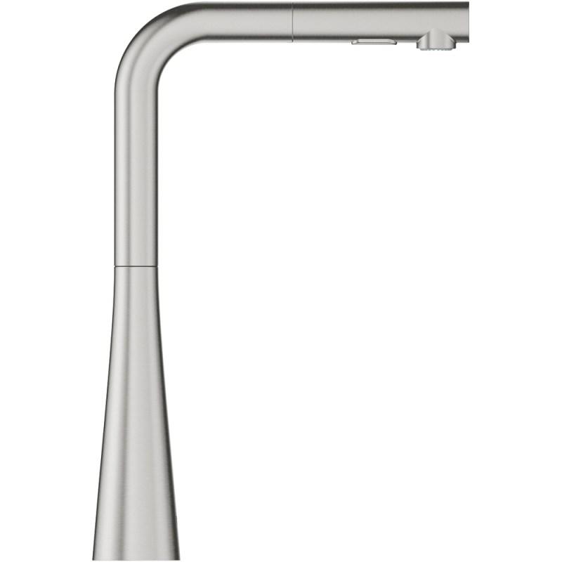 Grohe Zedra C Spout Dual Spray Sink Mixer 1/2? 32553 Supersteel