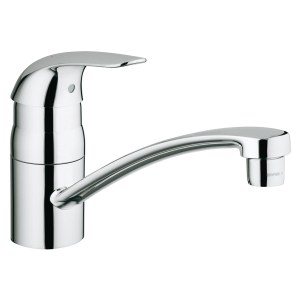 "Grohe Euroeco Sink Mixer Low Spout 1/2"" 32750"