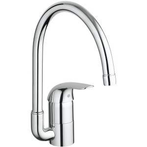 """Grohe Euroeco Sink Mixer High Spout 1/2"""" 32752"""