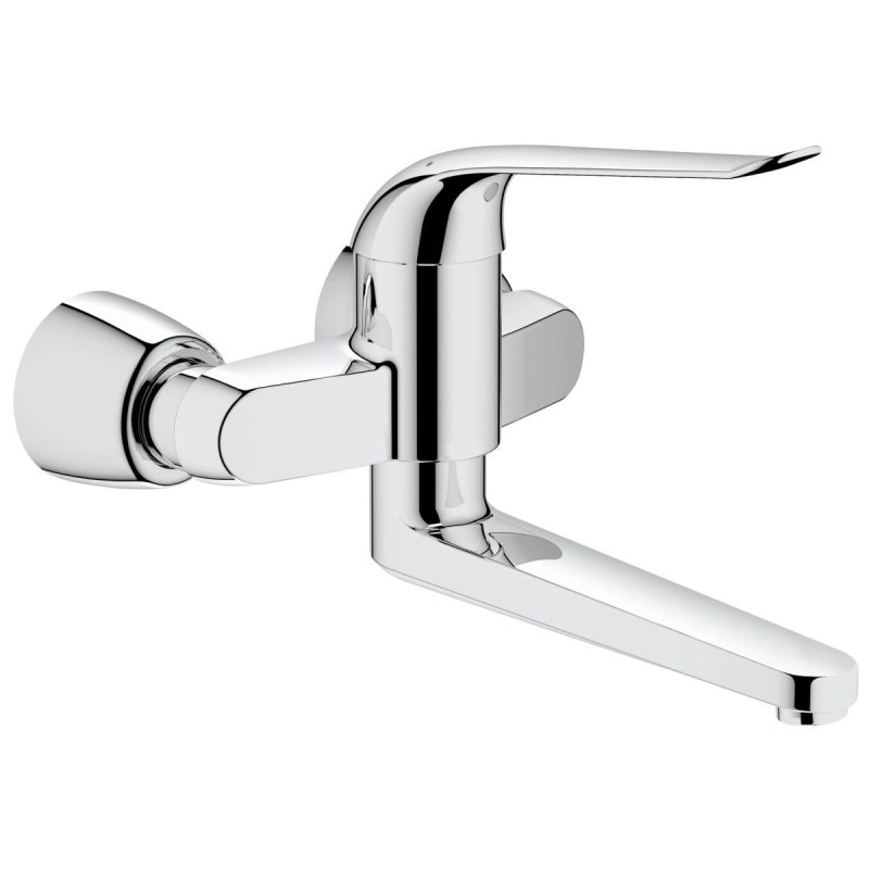 """Grohe Euroeco Special Wall Mounted Basin Mixer 274mm 1/2"""" 32774"""