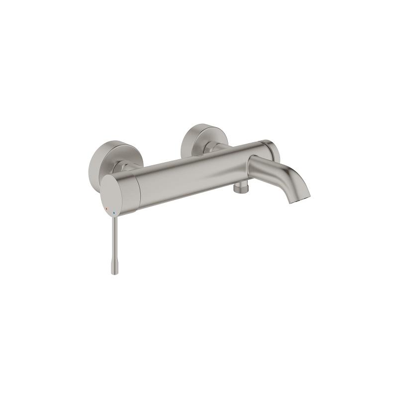 "Grohe Essence Bath/Shower Mixer 1/2"" 33624 Supersteel"