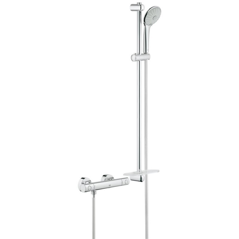 """Grohe Grohtherm 1000 Cosmopolitan M  Shower Mixer 1/2"""" 34321"""
