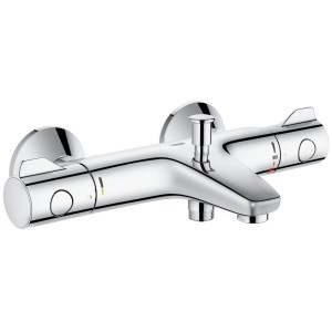 """Grohe Grohtherm 800  Thermostatic Bath/Shower Mixer 1/2"""" 34569"""