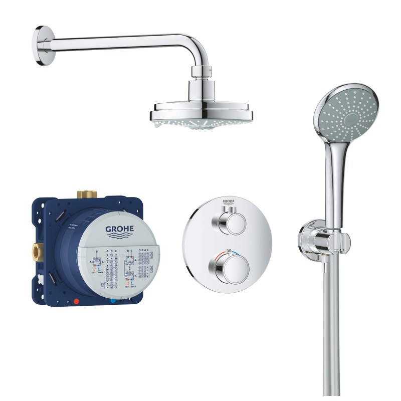 Grohe Grohtherm Round Perfect Shower Set 34735