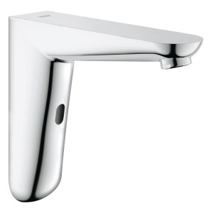 Grohe Euroeco Cosmopolitan E Infra-Red Wall Basin Tap 36274