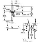 Grohe Euroeco CE Powerbox 36384