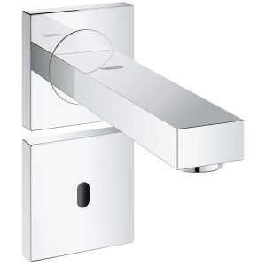 Grohe Eurocube E Infra-Red Electronic Wall Basin Tap 36442