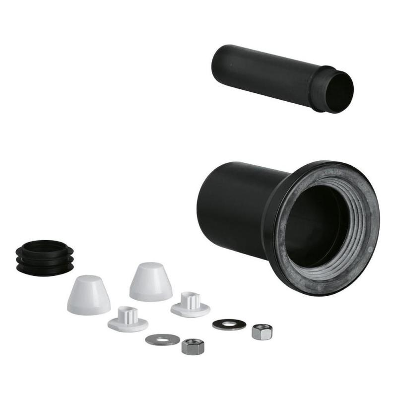 Grohe WC Inlet & Outlet Connecting Set 37311 Black