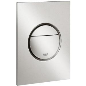Grohe Nova Cosmopolitan S Dual Flush Plate 37601 Supersteel
