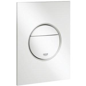 Grohe Nova Cosmopolitan S Dual Flush Plate 37601 Alpine White