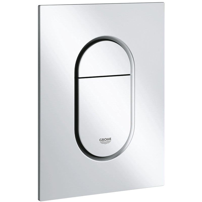 Grohe Arena Cosmopolitan S Dual Flush Plate 37624 Matt Chrome