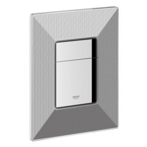 Grohe Skate Cosmopolitan WC Wall Plate 38859 Black Graphics