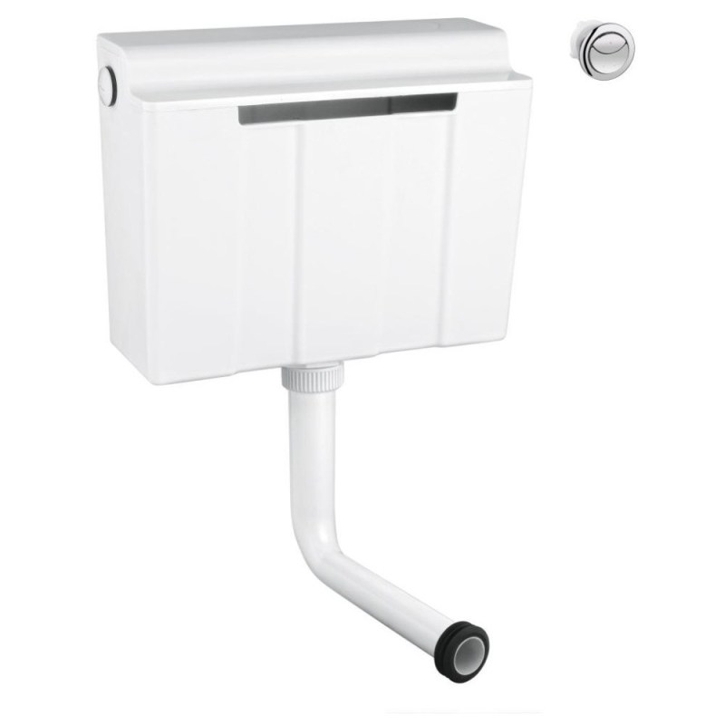 Grohe Concealed Flushing Cistern Dual Flush Bottom Fill 39053