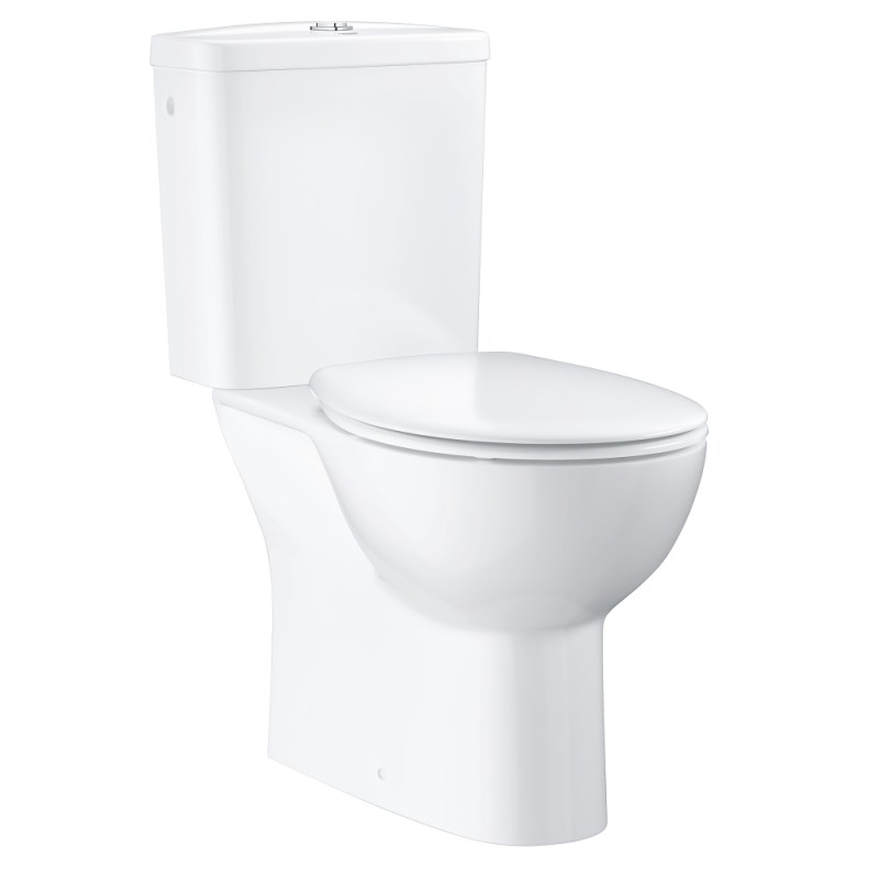 Grohe Bau Ceramic Close Coupled Bottom Outlet WC Pack 39346
