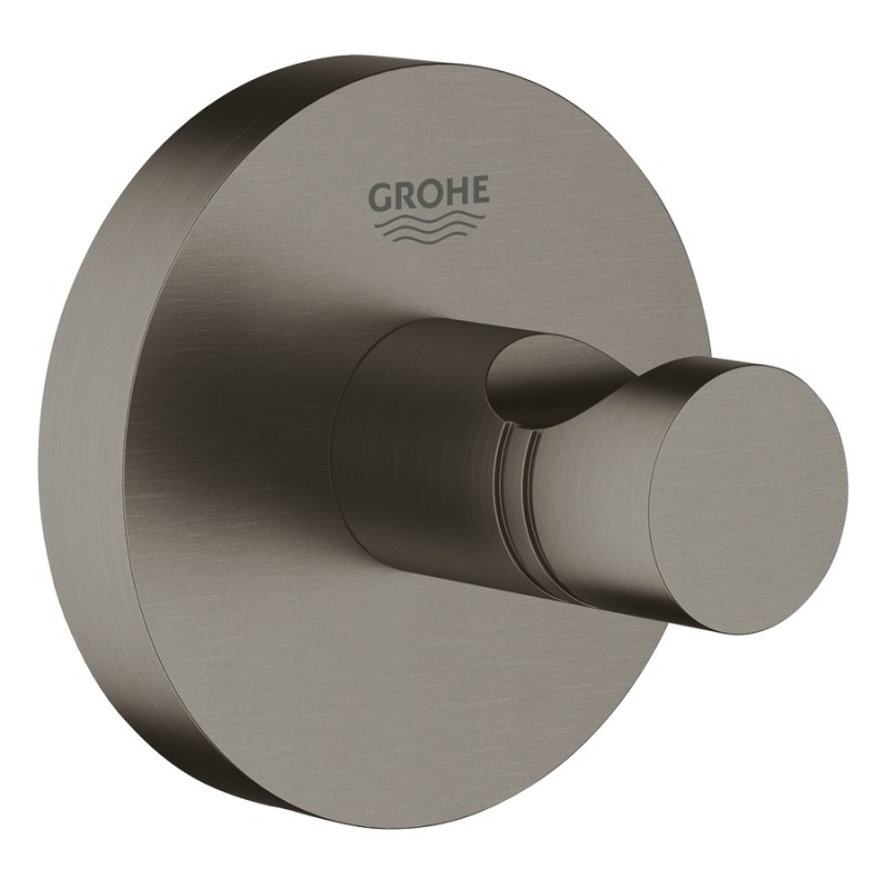 Grohe Essentials Robe Hook 40364 Brushed Hard Graphite