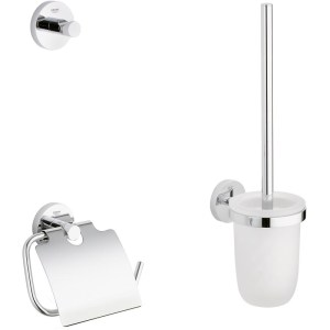 Grohe Essentials 3-in-1 WC Accessories Set 40407