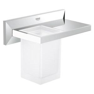 Grohe Allure Brilliant Shelf with Tumbler 40503