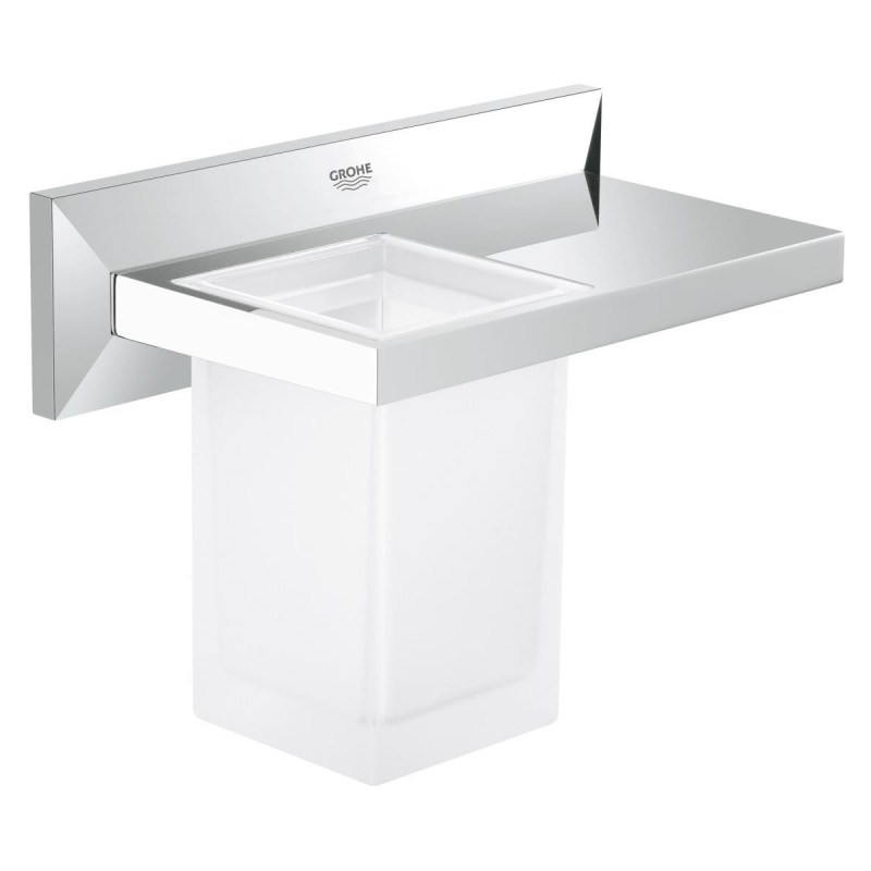 Grohe Allure Brilliant Shelf with Tumbler 40503
