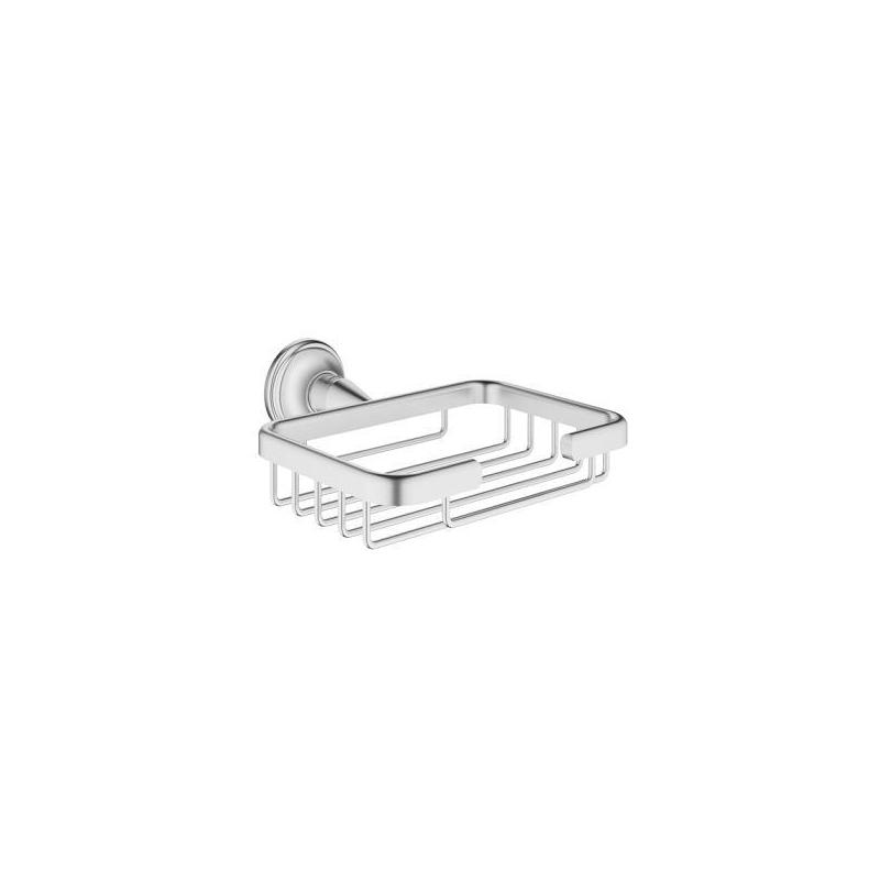 Grohe Essentials Authentic Small Corner Basket 40659 Brushed Nickel