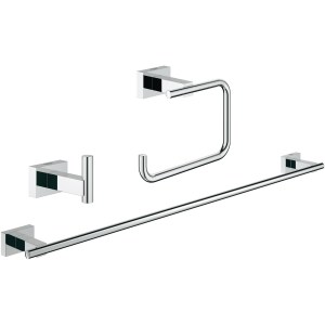Grohe Essentials Cube 3-in-1 Bathroom Accessories Set 40777