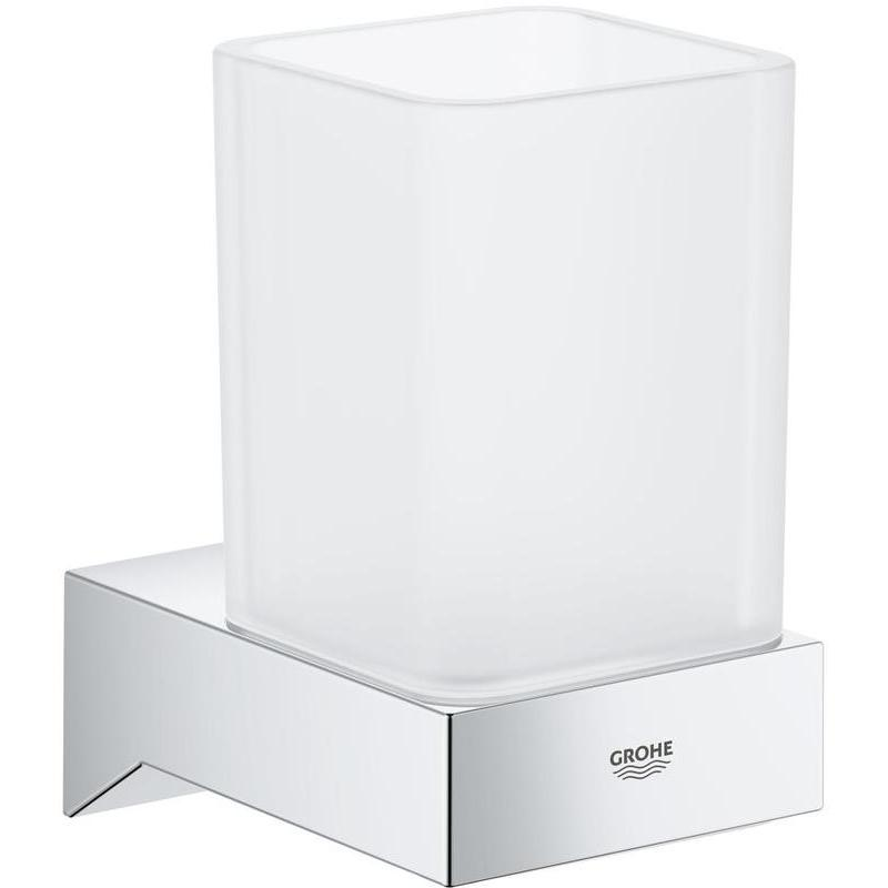 Grohe Selection Cube Glass 40783 Satin White