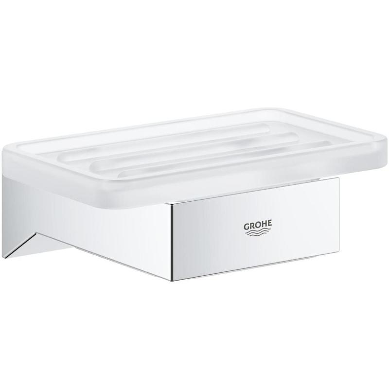Grohe Selection Cube Soap Dish 40806 Satin White