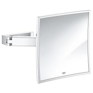 Grohe Selection Cube Cosmetic Mirror 40808 Chrome
