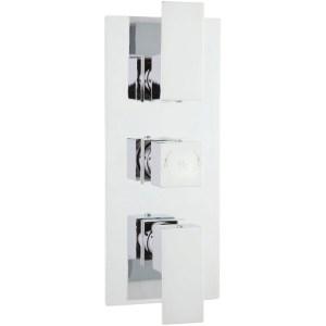 Hudson Reed Art Triple Thermostatic Shower Valve with Diverter