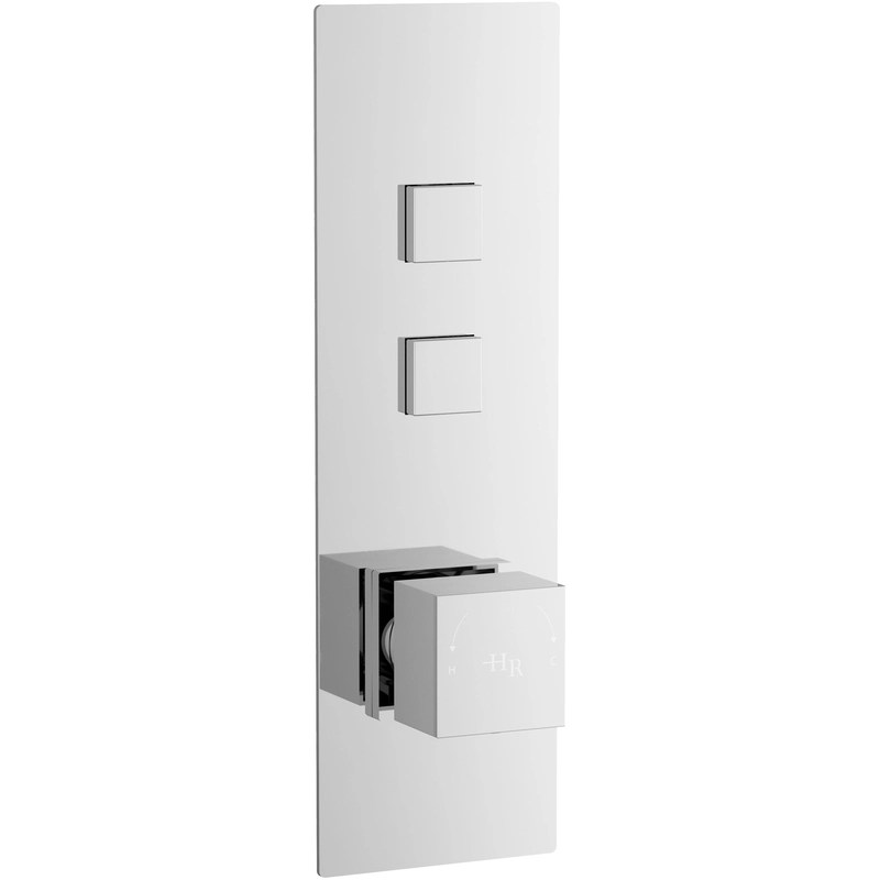 Hudson Reed Ignite Square Two Outlet Valve