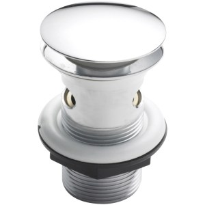 Hudson Reed Push Button Slotted Basin Waste